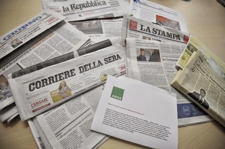 2014, ANNO NERO PER LIBERTÀ DI STAMPA. L'ITALIA PRECIPITA AL 73° POSTO