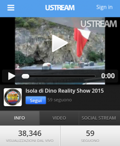 Streaming isola