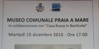 """PRAIA A MARE / Museo comunale, da domani la mostra """"Pittori europei in Basilicata"""""""