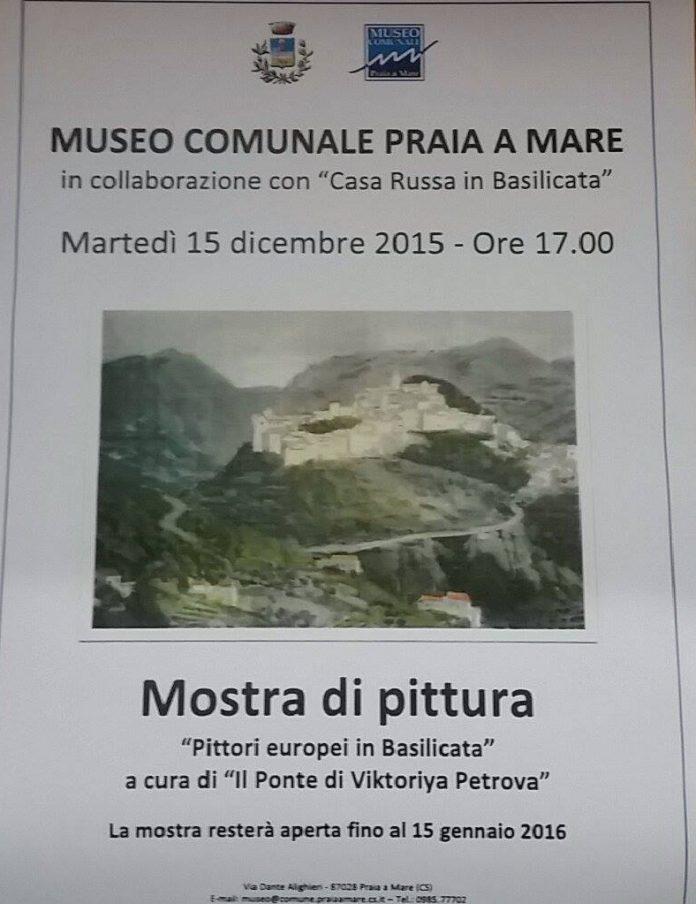 PRAIA A MARE / Museo comunale, da domani la mostra