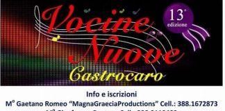 """Praia a Mare(Cs) , tutto pronto per le selezioni """"Nuove Vocine Castrocaro"""" sezione Calabria"""