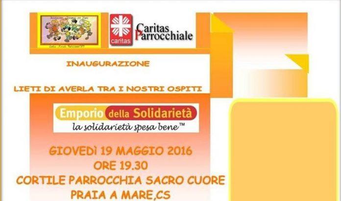 Volontariato e associazionismo, nascerà a Praia a Mare (Cs) il primo emporio solidale della Calabria