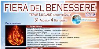 Fiera del Benessere alle Terme Luigiane di Acquappesa (Cs), in programma dal 31 agosto al 4 settembre