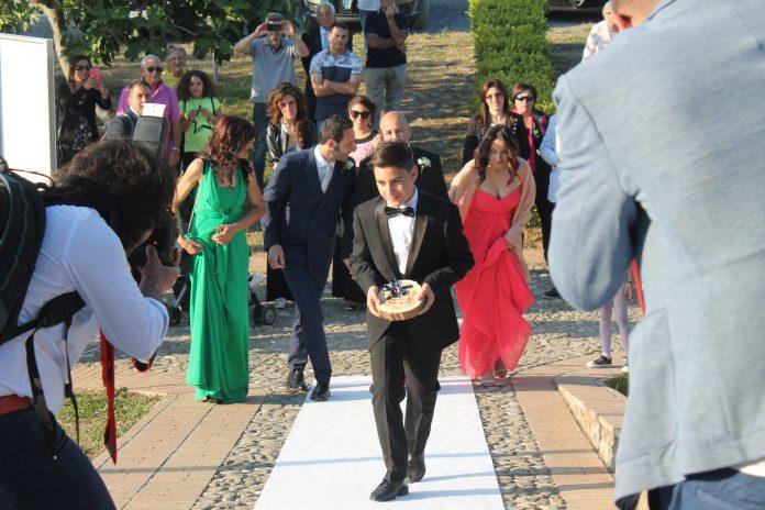 Unioni civili | A Santa Maria del Cedro (Cs) Antonio e Gianluca hanno detto 'sì': le immagini della cerimonia