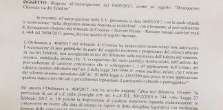Scalea | Il consigliere Renato Bruno (M5S) su sequestro dei chioschi: 'Le bugie hanno le gambe corte'