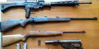 Catanzaro | Mitra e carabine in cantina, arrestati Francesco Toscano e Massimiliano Latini