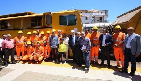 292d9bc31c759 Calabria   Ieri al via i lavori su ferrovia Ionica, aperto primo cantiere  nella tratta