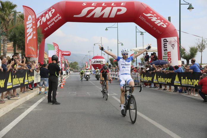 Tortora (Cs) | Giro d'Italia Amatori, prima tappa nel segno di Sirio Sistarelli ed Elena Cairo