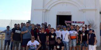 Crotone salvo, pellegrinaggio a piedi dei tifosi dalla città al santuario Capocolonna Lacinia