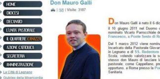 Rozzano (Mi) | L'abuso di don Mauro Galli è stato insabbiato? Il muro di di omertà si sta forse sgretolando