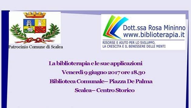 Scalea (Cs) | Venerdì 9 giugno al centro storico si parlerà di bliblioterapia e delle sue applicazioni