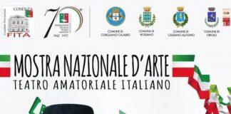 Rossano (Cs) | Il 5 luglio a Palazzo Ducale la Mostra nazionale d'arte del Teatro amatoriale italiano