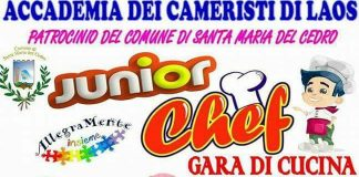 Santa Maria del Cedro, martedì 8 agosto al via la prima edizione di Junior Chef