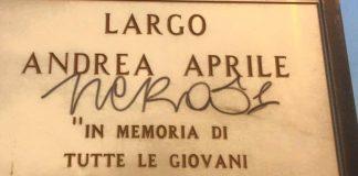 Cetraro (Cs), ripristinata targa intitolata ad Andrea Aprile, giovane vittima della strada