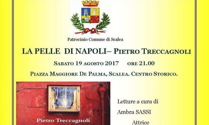 Scalea, il 19 agosto la presentazione del libro 'La Pelle di Napoli- Voci di una città senza tempo