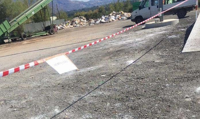 Scalea, sequestrata area gestione rifiuti con reflui industriali non depurati