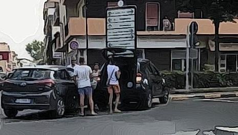 Praia a Mare, incredibile ma vero: a meno di 12 ore un altro incidente allo stesso incrocio