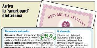 A Crotone al vie le procedure per la carta di identità elettronica
