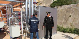 Sequestrato impianto solare che serve l'ospedale di Cetraro