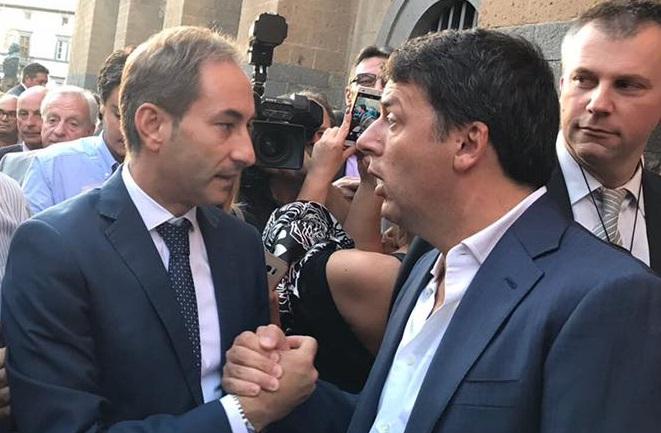 Matteo Renzi benedice l'Aria Nuova che si respira nel Pd calabrese