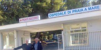 Ospedale di Praia a Mare: l'immagine simbolo della vittoria