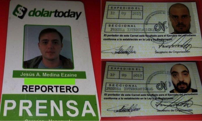 Giornalismo, arrestati in Venezuela due collaboratori de Il Fatto Quotidiano e il Giornale