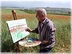 Rende, Museo del Presente: il pittore Azzinari ospite d'onore al 'Memorial Guerino Cittadino'