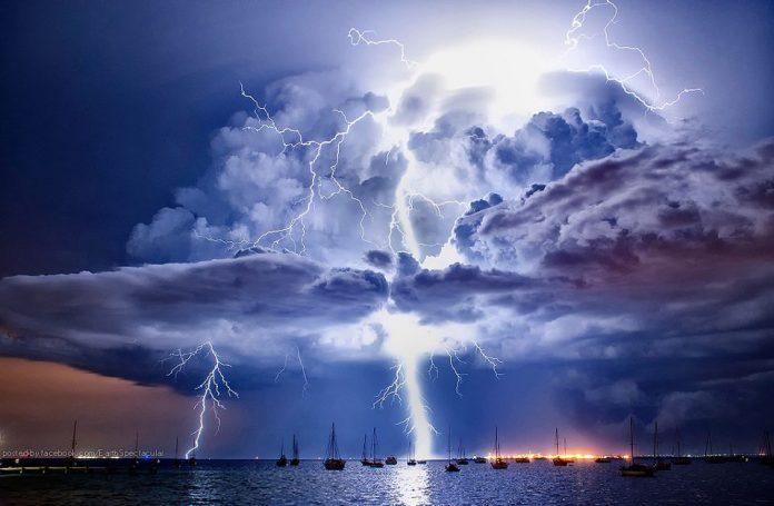 In arrivo una perturbazione atlantica che porterà temporali su tutta la Penisola