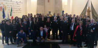 Crosia (Cs), commemorazione del 25° anniversario della morte del Brigadiere CC Antonino Rubino