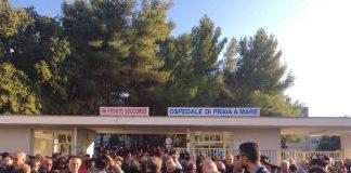 Inaugurazione ospedale di Praia a Mare, le foto della folla all'evento