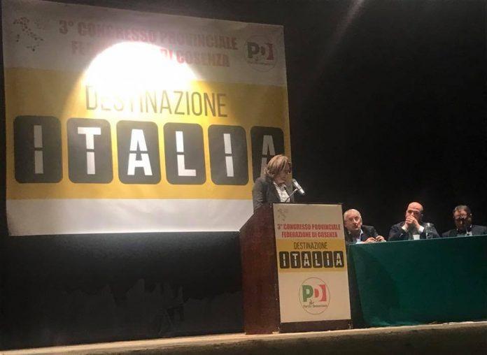 Congresso provinciale Pd Cosenza, Aria Nuova: «Celebrata giornata più brutta degli ultimi tempi»