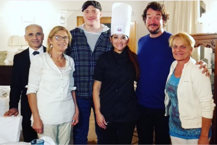 'Da Hollywood a Maratea in cucina con Geraldine': il racconto della cuoca potentina delle star