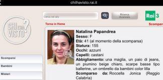 Natalina Papandrea, ancora una misteriosa scomparsa in Calabria