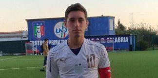 Scalea: Eugenio d'Andrea, dalla scuola calcio Digiesse alla nazionale italiana di calcio