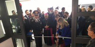 Catanzaro, inaugurata la nuova sede del Comando dei Carabinieri