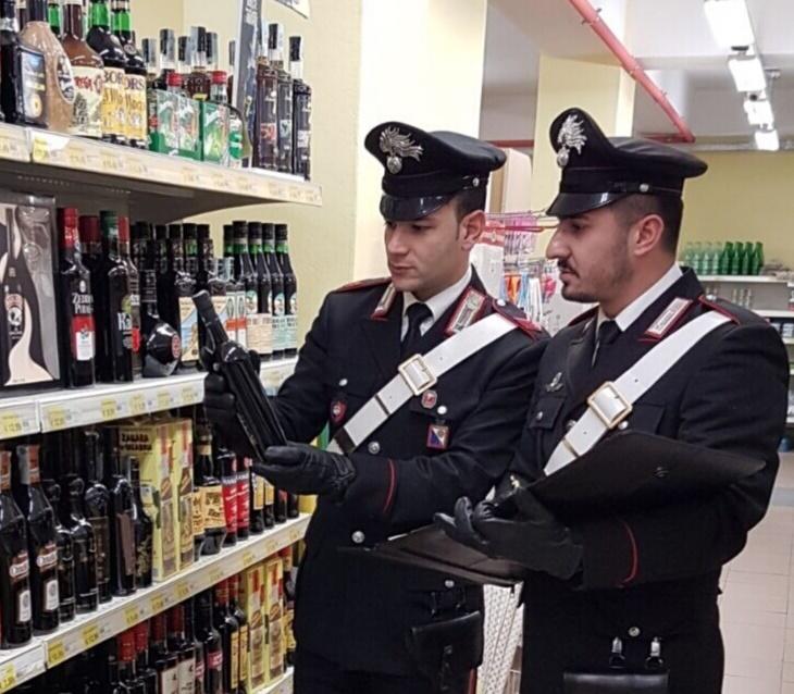 Foto controlli Carabinieri Acri.