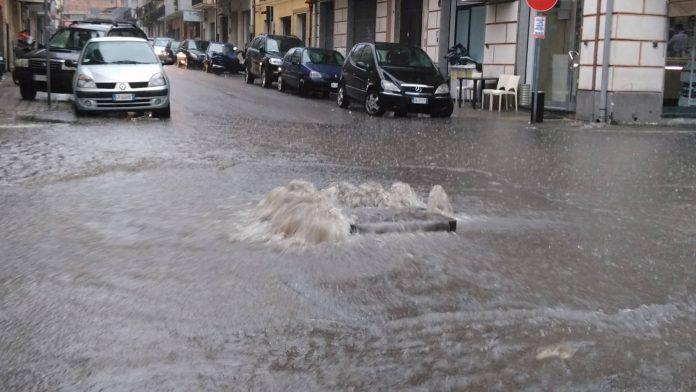 Le terribili immagini del nubifragio a Reggio Calabria