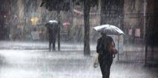 Calabria, per domani allerta meteo della Protezione civile: previste piogge, grandinate e vento