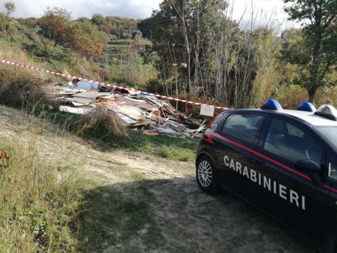 Paola, servizi di controllo dei carabinieri: sequestrata anche una discarica abusiva