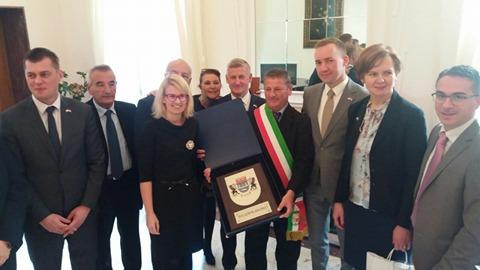 Firma storica fra Scalea e la città polacca Wladyslawowo: è gemellaggio