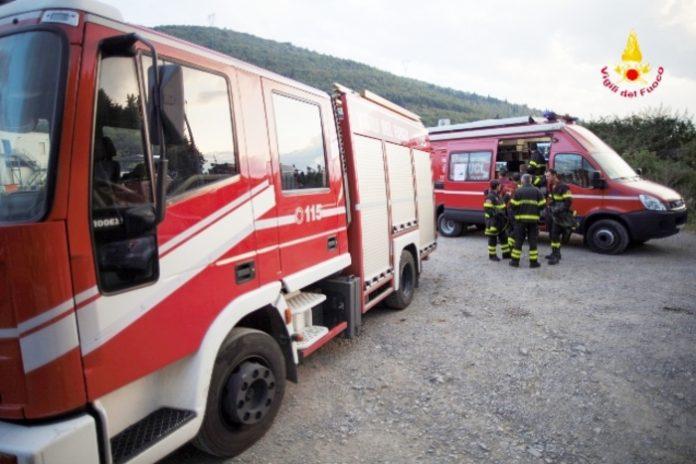 Crotonei, incendiata la cabina seggiovia di località Trepidò