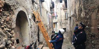 Sicurezza: i carabinieri passano al setaccio la città vecchia di Cosenza
