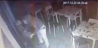 [VIDEO] Alto Tirreno, malvivente tenta di incendiare un bar a Grisolia: le immagini drammatiche