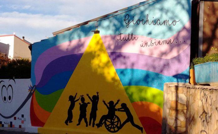 A Diamante domani l'inaugurazione del parco giochi inclusivo