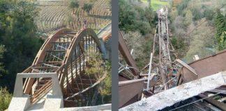 Papasidero, crolla il ponte costruito 17 anni fa: un dramma annunciato da tempo