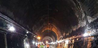 Conclusi i lavori galleria Santomarco del tratto ferroviario Cosenza-Paola