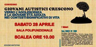 Scalea, sabato 28 aprile il convegno 'Giovani autistici crescono'
