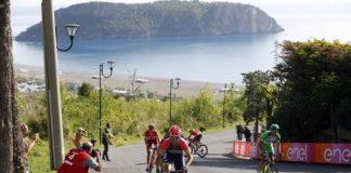 Il Giro d'Italia fa tappa a Praia a Mare, strade: gli orari di chiusura e i divieti