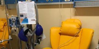 All'Ospedale Annunziata di Cosenza donata la 'Cuffia' contro la caduta di capelli da chemio