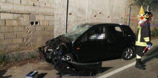 Catanzaro, 20enne muore in un incidente stradale